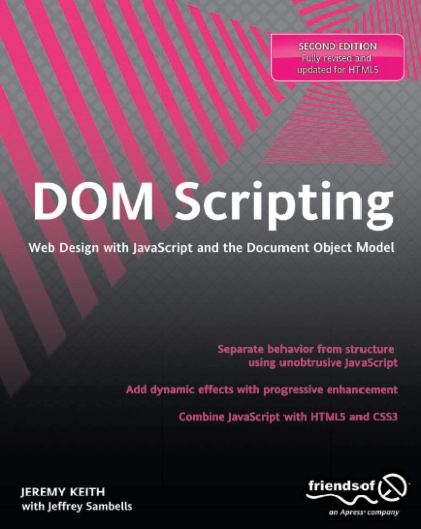 DOM Scripting, 2nd