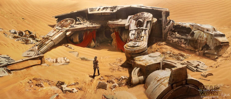 《星球大战》设计图插画欣赏 @幻思系 首发-看客路