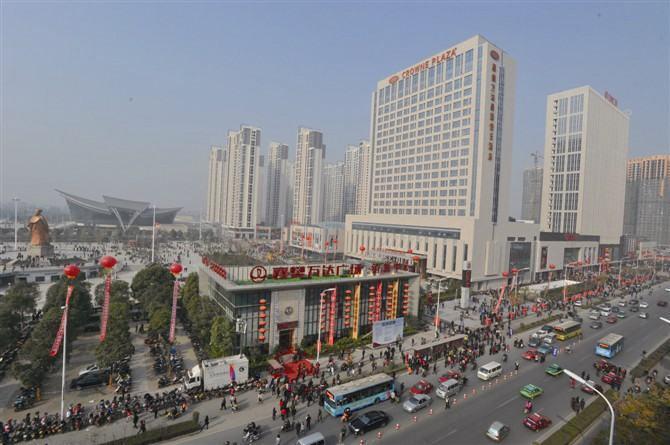 是襄阳迄今为止投资额最大,商业配套最齐全,开发规模最大的城市综合体