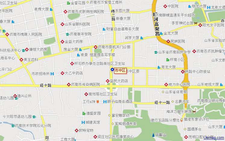 市中区地图