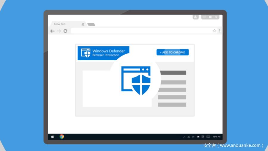 微软为 Chrome 和 Firefox 发布了 Windows Defender 扩展-互联网之家