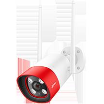 360智能摄像机红色警戒版