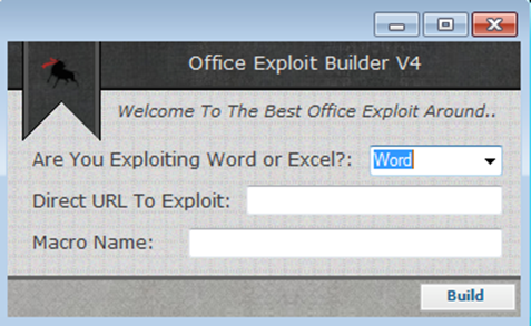 一键Office Exploit - Office Exploit Builder介绍- 安全客- 有