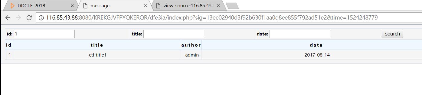 DDCTF 2018 writeup(一) WEB篇- 安全客,安全资讯平台